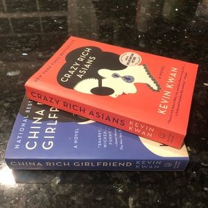 Crazy Rich Asians and China Rich Girlfriend books
